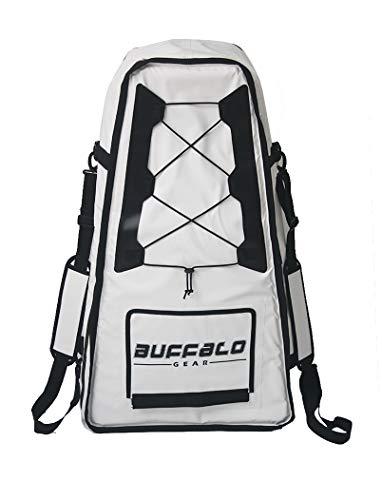 Buffalo Gear Insulated Kayak Bag 20' x 36' Insulate Fish Cooler Bag, Large...