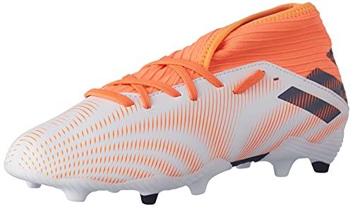 adidas Nemeziz .3 FG J, Zapatillas de fútbol, FTWBLA/NEGBÁS/NARCHI, 38 2/3 EU