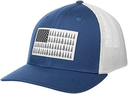 Columbia Standard Mesh Tree Flag Ball Cap, petrol blue, Small/Medium