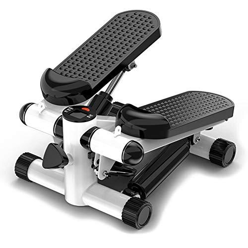 ZZPP Twist Sportgerät,für Startseite Büro Fitness Training Übung,Stepper Für Zuhause Aerobic Twister Stepper Übungsmaschine Mit LCD-Display Schwarz 38x30x18cm(15x12x7inch)