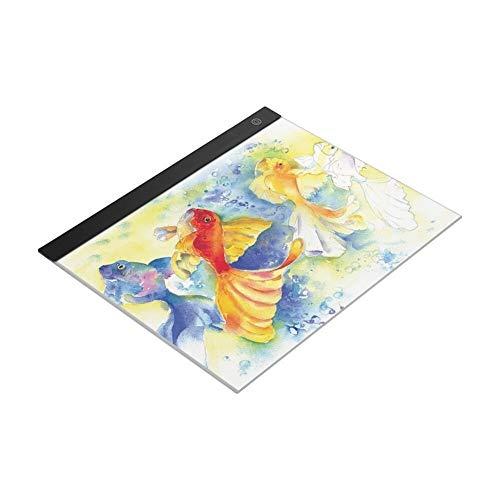 Bassette Placa del Panel LED De Luz A3 Graphic Tablet Light Pad Tablet Digital Copy para Escribir o Dibujar