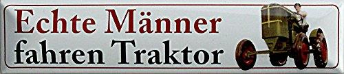 STR-M 4 Plaque de rue aimantée en tôle pour homme 16 x 3,5 cm