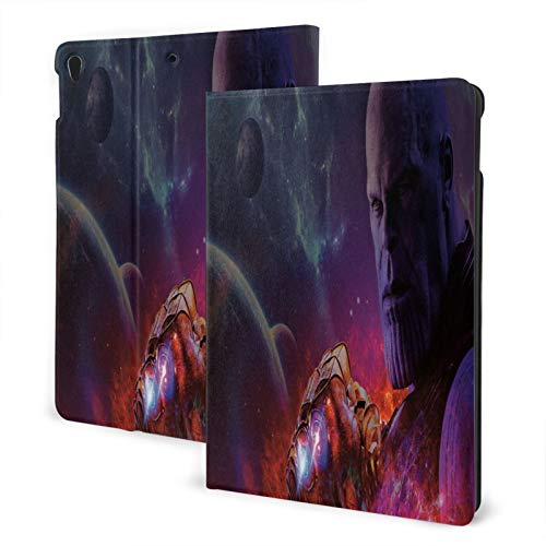 Slim Smart Case For Pad Air 3 2020 , Pad 10.2 Case 2020, Pad 8th Generation Case 2019 Auto Sleep/Wake Cover Viewing/Typing Stand Modes Flexible Tpu Back-Thanos_Avengers Infinity War_Cinematic