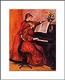 Pierre Auguste Renoir 16x20 Art Print - The Piano Lesson