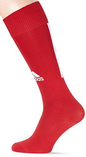 adidas SANTOS SOCK 18 Socks, Unisex adulto, Power Red/White, 3133