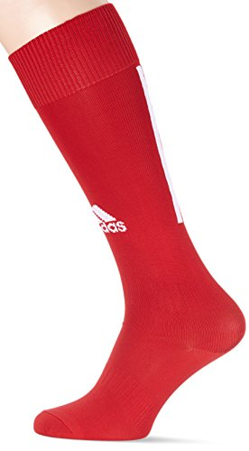 adidas Santos Sock 18 Calcetines, Unisex Adulto, Power Red/White, 4042