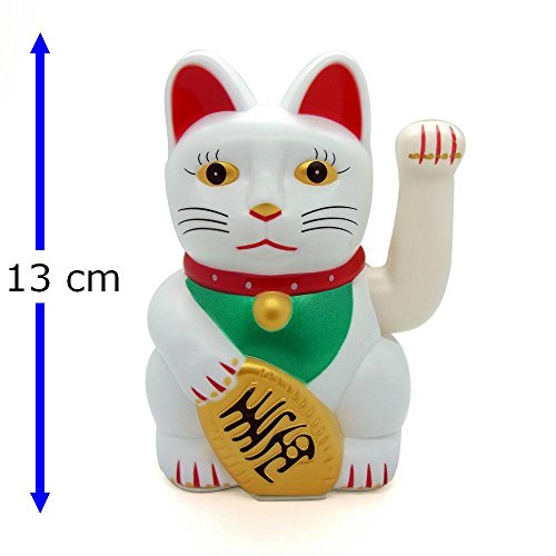 Winkekatze winkende Katze Glückskatze Glücksbringer Maneki Neko Asia Dekofigur