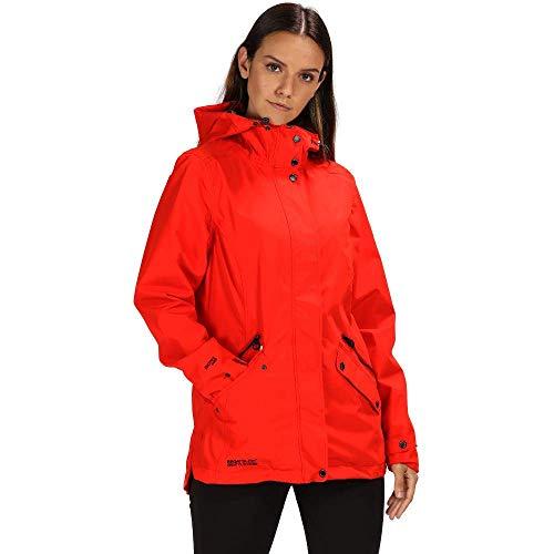 Regatta Basilia Veste imperméable Femme, Fiery Red, FR Unique Fabricant : Taille 30