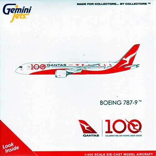 GeminiJets GEMGJ1902 1:400 Qantas Boeing 787-9 Reg #VH-ZNJ