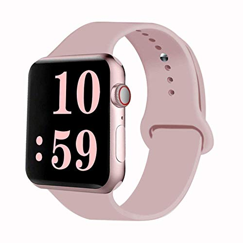 Apple Watch Band, Soft Silicone Sport Strap Replacement Bands