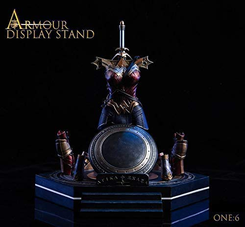 ZSMD 1/6 Amazon Female Fighter Battle Armor Standing Platform with Armour Display Stand (SJT-A)