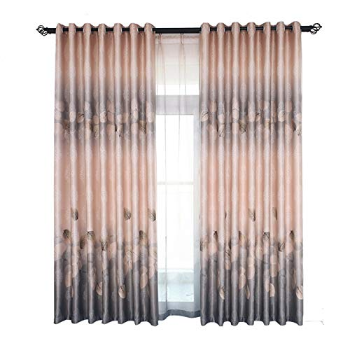 La Toile A Ombrer Moderne Rideau Simple Épaississement De Tissu pour Rideaux Flottent Fenêtre Chambre De Produit Fini150 x 270 CM (W x H) x 2,À