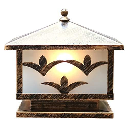 Bijdrage lantaarn poort zuillamp zuil tuinlamp waterdichte vloerlamp LED zuilverlichting Villa Garden View Light