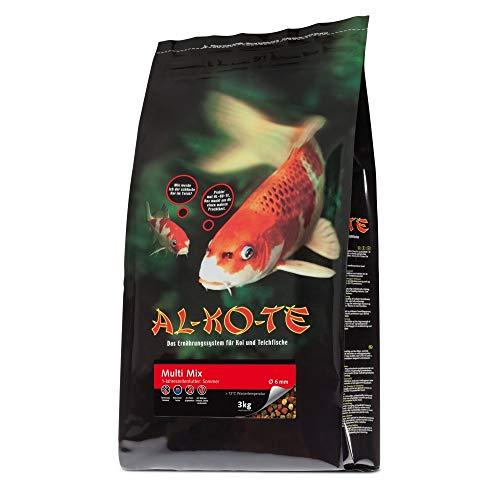 Fischfutter Teichfutter AL-KO-TE Multi-Mix 3 mm Pellets 3 kg High-Premium
