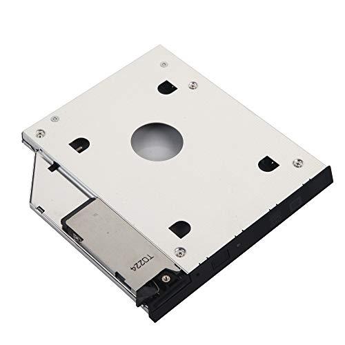 """DY-tech 2.5"""" 9.5mm SATA 2nd HDD SSD Hard Drive Caddy Adapter for DELL Latitude E6400 E6500 E6410 E6510; DELL Precision M2400 M4400 M4500"""