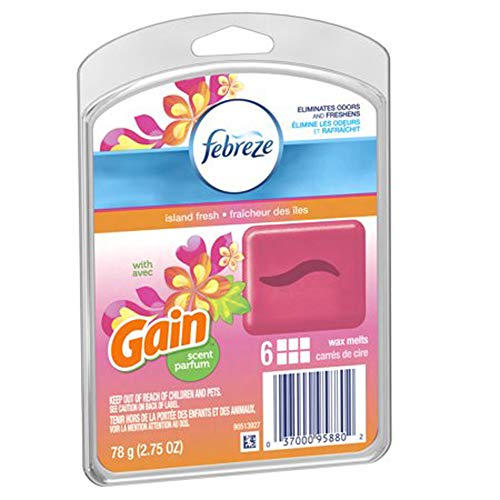 Febreze Island Fresh Wax Melts (6 Melts/Pack)