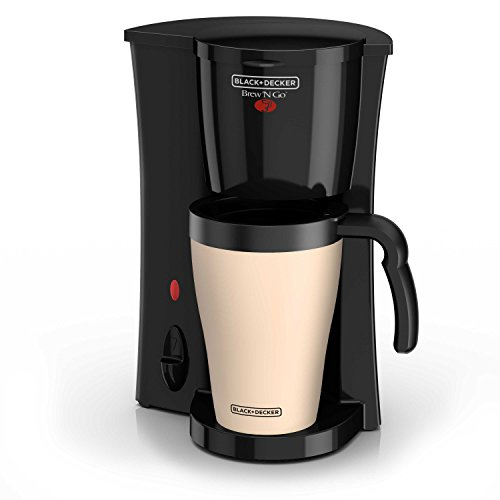 BLACK+DECKER Brew 'n Go Personal Coffeemaker with...