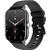 LEMFO Smartwatch für Herren Damen mit Pulsmesser, 1,7 Zoll Full Touchscreen Fitness Tracker,...