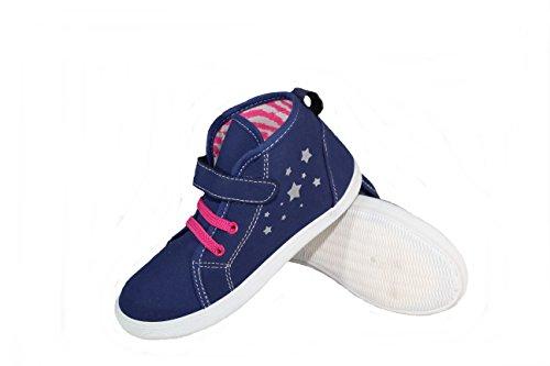 lupilu Mädchen Sneaker Schuhe Blau 28