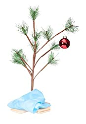 Artificial Charlie Brown Tree