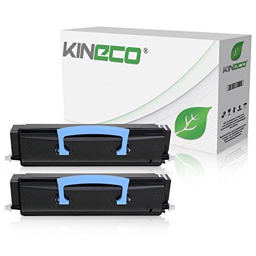 2 Toner kompatibel zu Lexmark X203N, X204N, X200 Series - X203A21G - Schwarz je 2.500 Seiten