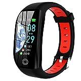 LTLGHY Smartwatch, Relojes Inteligentes Impermeable IP68 Pulsera Actividad Inteligente con Pulsómetro Podómetro Monitor De Sueño Caloría Smart Watch Men Women Kid para Android iOS,Negro