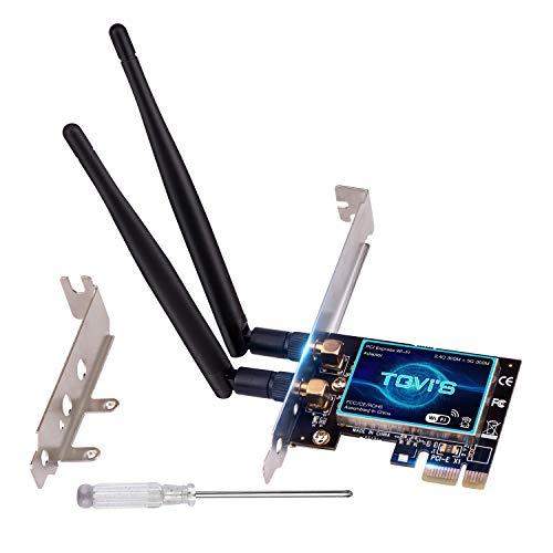 Wireless PCIE WiFi Card for Desktop PC 600Mbps