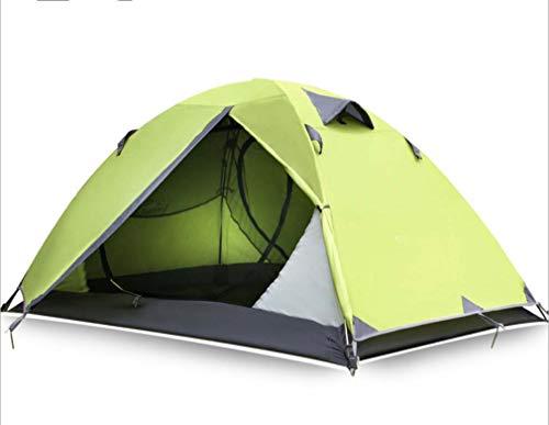 Isabella Outdoor product, Dubbele camping tenten en wilde regenbuien, Professionele camping bergbeklimmen apparatuur tent, Groen,