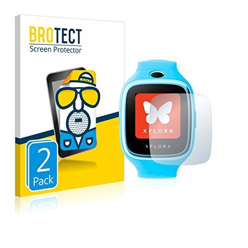 BROTECT 2X Entspiegelungs-Schutzfolie kompatibel mit Xplora 3S Bildschirmschutz-Folie Matt, Anti-Reflex, Anti-Fingerprint