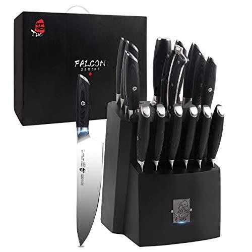 top TUO Knife Block Set
