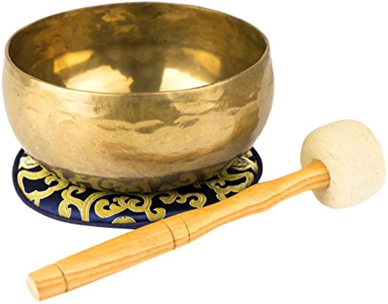 Nepalesische Klangschale mit Zubehr (550)