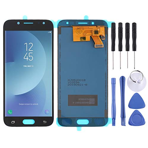 PANTALLA LCD Accesorios DE TELEFONO MOVIL Inteligente COU y ensamblaje Completo del digitalizador (Material TFT) for Galaxy J5 (2017), J530F / DS, J530Y / DS (Negro) Accesorios Smart MOBILEPHONE Pant