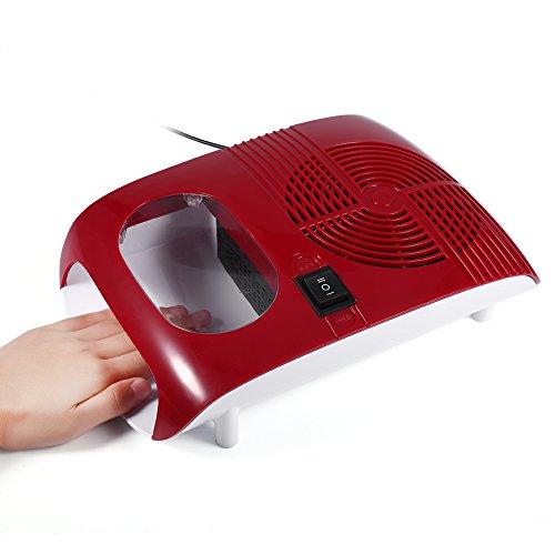 110W nagellak droger, warme/koude lucht nagellak droger met ventilator manicure gereedschap voor het drogen van nagellak