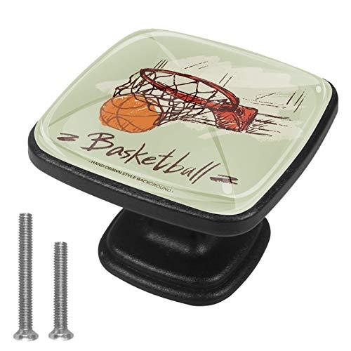 4 pomos de armario de cocina sólidos redondos para cajón, tiradores de baloncesto en cesta-01
