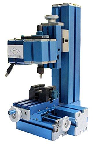 6. SUNWIN Metal Mini Milling Machine Micro DIY Woodworking Power Tool