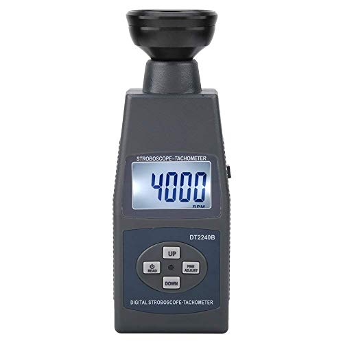 Great Deal! ZYL-YL DT2240B Stroboscope Flash Tachometer, 60-40,000RPM Portable Digital Stroboscope F...