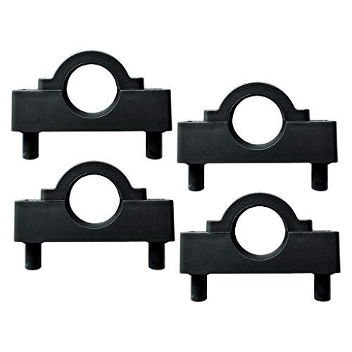 SM SunniMix 4pcs Accesorios de Repuesto para Clip de Poste Soporte de Estabilizador/Soporte de Motor de Nylon de Kayak