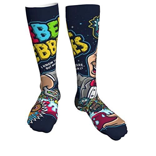 185 Calcetines De Deporte,Calcetines Gruesos Pee Wee Herman Rebel Pebbles, Calcetines Suaves Y Cómodos Unisex Para El Trabajo Atlético,50cm