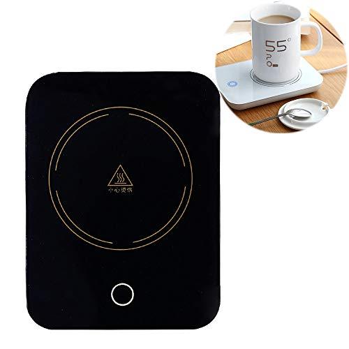 Koffie Warmer, Beker Warmer, Smart Touch Screen, Koffie Melk Drink Verwarming, 55 ° C Constante Temperatuur Isolatie, Glas Keramische Beker blikken Boxed Melk,B-zonder-Cup