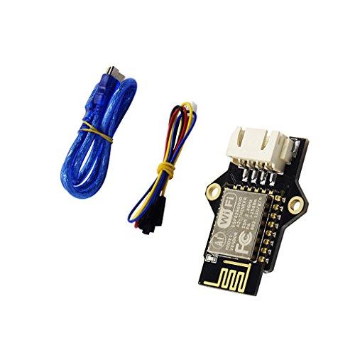 D DOLITY Piezas de Impresora 3D Módulos WiFi de WiFi Módulos con 4-Pol. Cable de Conexión y Cable USB