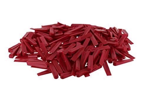 Fliesenverleghilfe Fugenkeile Fliesenkeile Kunststoff 250 Stück 32 x 5 mm