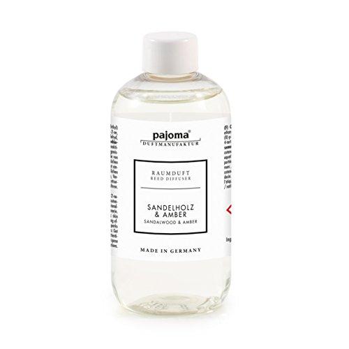 Raumduft Nachfüllflasche Sandelholz & Amber, 1er Pack (1 x 250 ml) von pajoma
