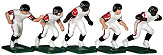 Tudor Games 67-14-W Big Men NFL Away Jersey - Atlanta Falcons 11 Electric Football Players, Multicolor (Pack of 11)