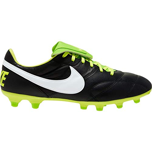 Nike Premier II FG, Zapatillas de fútbol para Hombre, Color Blanco y Negro, 40.5 EU