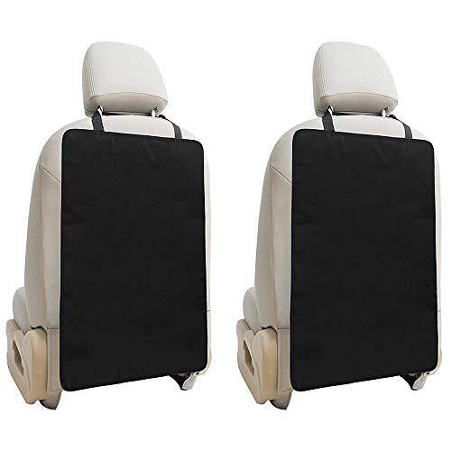 El protector del asiento del automóvil por ofrece una protección gruesa para los asientos de los niños y bebés, la cubierta protectora duradera protege el interior del paño Oxford (paquete de 2)