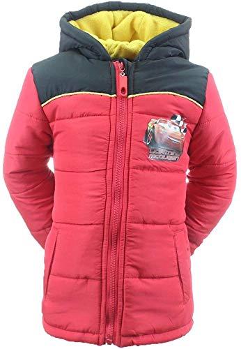 Coole-Fun-T-Shirts Cars 3 Lightning MC Queen jongens winterjas parka jas gevoerd donkerblauw of rood capuchon maat 92 98 104 110 116 128 cm