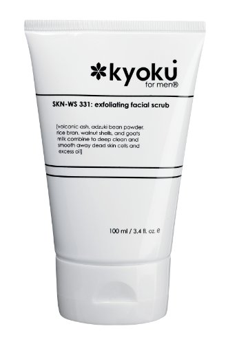 Kyoku For Men Exfoliating Facial Scrub | Kyoku For Men Face Scrub, A Gentle Acne...