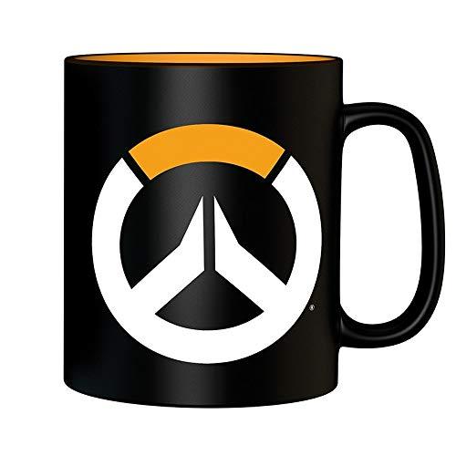 Overwatch - Taza de cerámica (460 ml, en Caja de Regalo), diseño con Logotipo de Icon