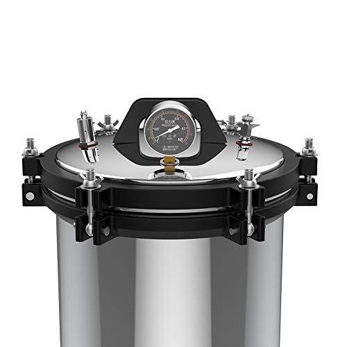 Autoclave de vapor, autoclaves de modo de calor dual Esterilizadores duraderos para evitar una presión excesiva en la olla