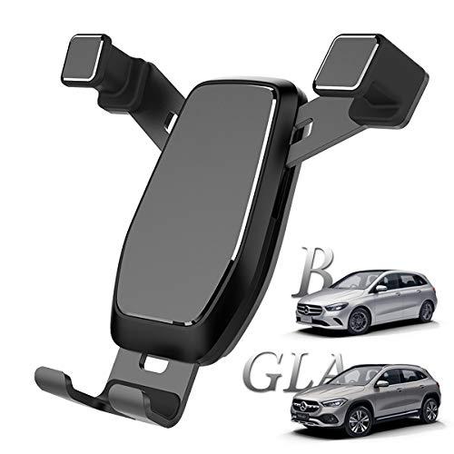 AYADA Handyhalterung für Mercedes-Benz B-Klasse W247 GLA H247, W247 Handy Halter GLA Phone Holder Upgrade Design Gravity Auto Lock Stabil ohne Jitter MB W247 Zubehör Accessories 2020 B180 GLA200